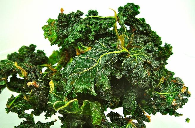 ♡ Rohköstliche Grünkohl Knusper ♡ aus Rohköstliche Gourmet-Rezepte für Genießer