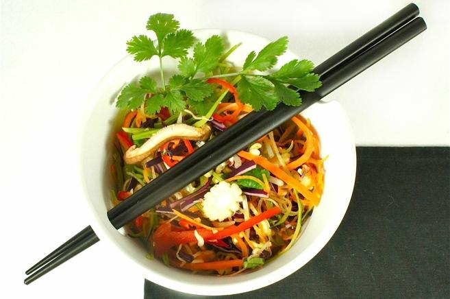 ♡ Rohköstliches Pad Thai ♡ aus Rohköstliche Gourmet-Rezepte für Genießer