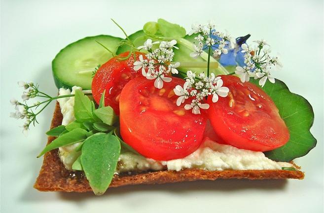 ♡ Rohköstliches Sandwich ♡