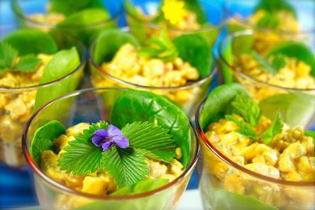 Himmlischer Indischer Kartoffelsalat