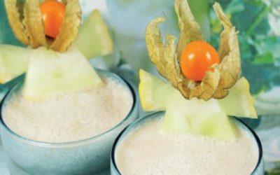 Melonen-Vanille-Chili-Shake