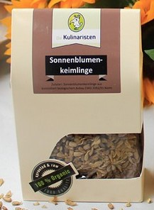 Kulinaristen Bio Sonnenblumen-Keimlinge 125g