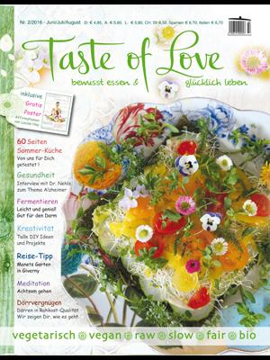 Taste of Love Magazin Juni|Juli|August