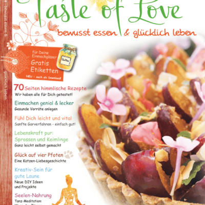 Taste of Love Magazin Cover 3-2016