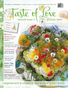 Taste of Love Magazin 2-2016 Cover