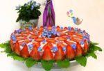 Erdbeer-Mandelsahne-Torte VEGAN