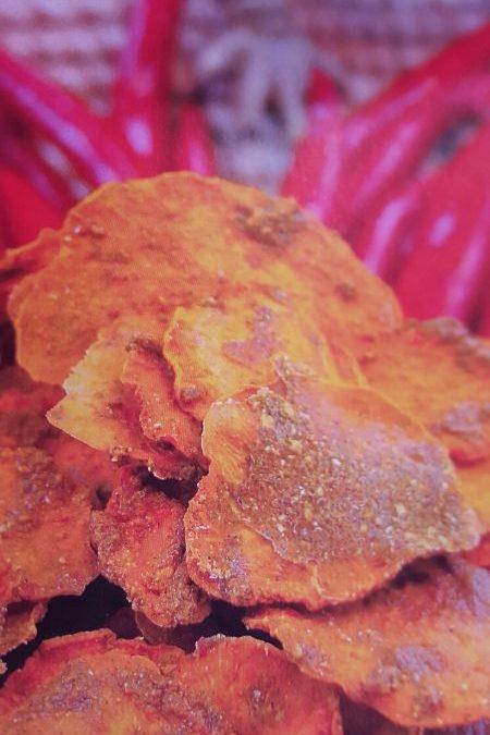 Mexikanische Süßkartoffelchips – RAW