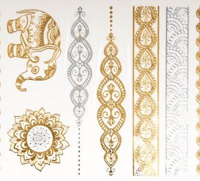 Tatoo Orient Style Gold