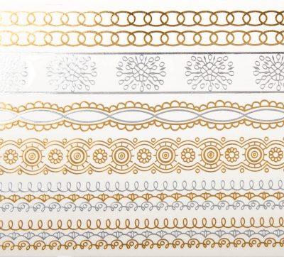 Tatoo Ornamente Gold