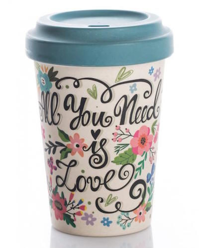 chic mic Bamboo Cup All you need is Love