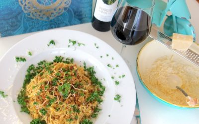 Low Carb Pasta nach Carbonara-Art