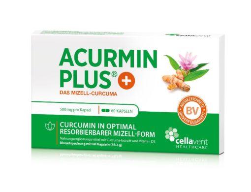 ACURMIN PLUS Das Mizell Curcuma 60 Kapseln