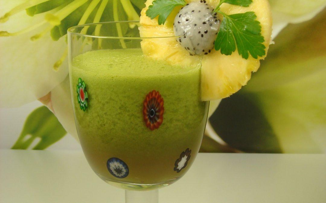 Pina Verde – der frische Smoothie!