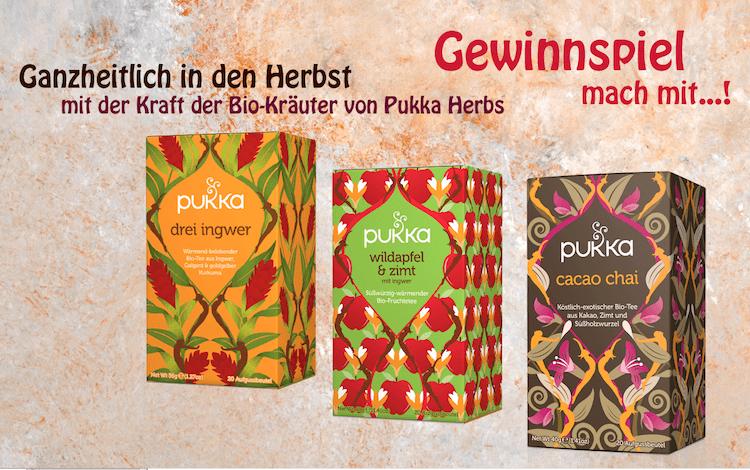 Gewinnspiel: Herbstliches Pukka-Tee-Paket