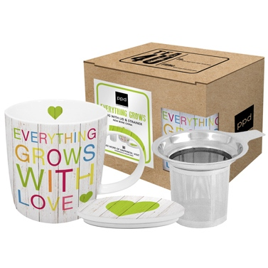 Tasse Everything Grows with Love