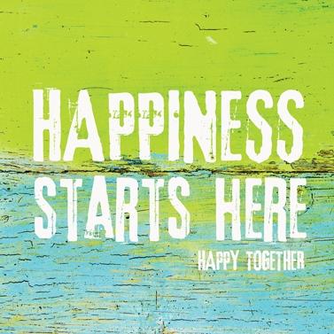 Lunch-Servietten Happiness Starts Here