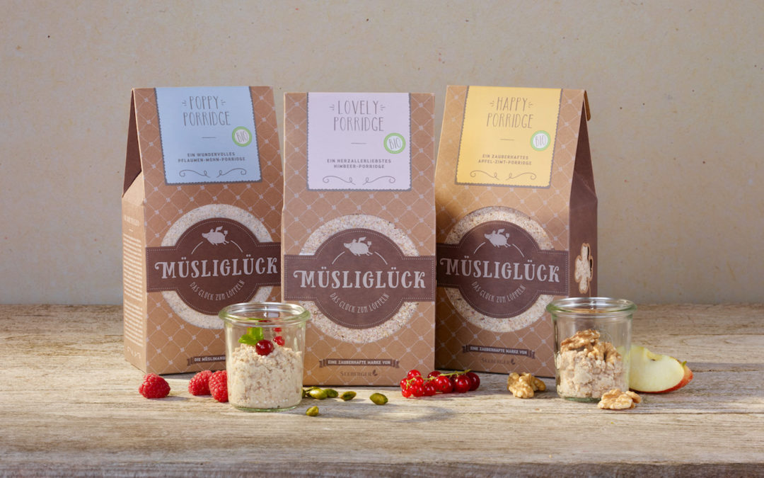Tipp: Happy, Poppy, Lovely: die neue Happy Porridge Reihe von Müsliglück
