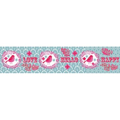 Overbeck and Friends Paketband Love Blau