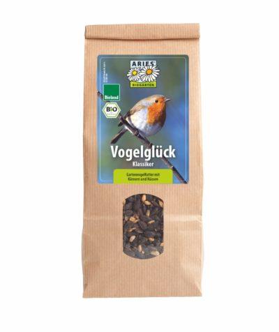 Vogelglück - Klassiker: Gartenvogelfutter mit Körnern und Nüssen