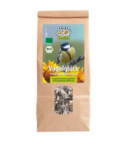 Vogelglück - Sonnenblumenkerne pur: energiereiches Gartenvogelfutter