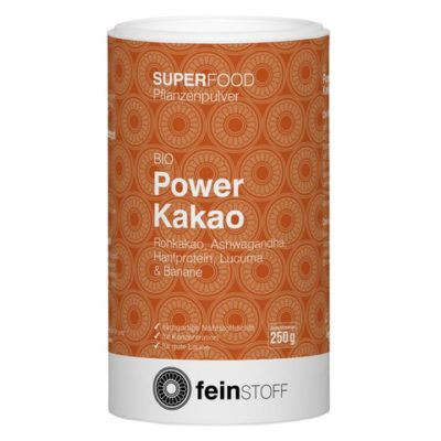 Feinstoff Superfood Bio Power Kakao Pulver 250g