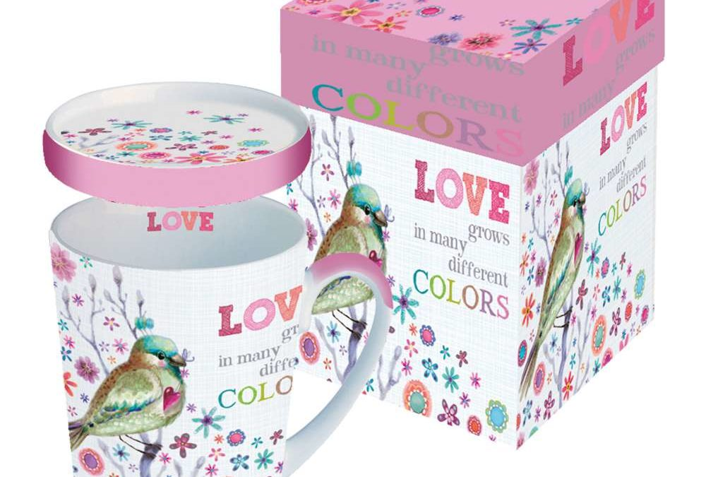 Tasse Trend Mug Gift Box Love Grows