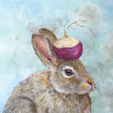 "Lunch-Servietten ""The Turnip Guardian"""