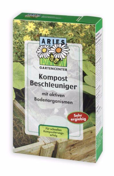 Kompostbeschleuniger mit aktiven Bodenorganismen
