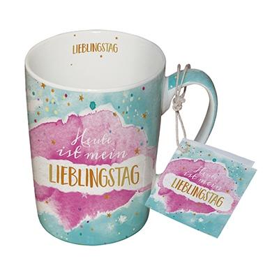 Tasse Heute ist mein Lieblingstag