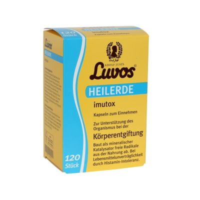 Luvos Heilerde Imutox Körperentgiftung 120 Stück