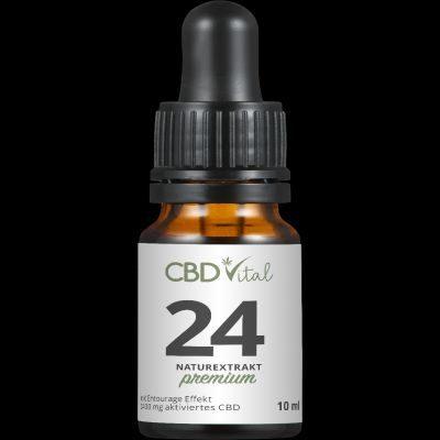 CBD Öl Naturextrakt Premium 24% 10 ml
