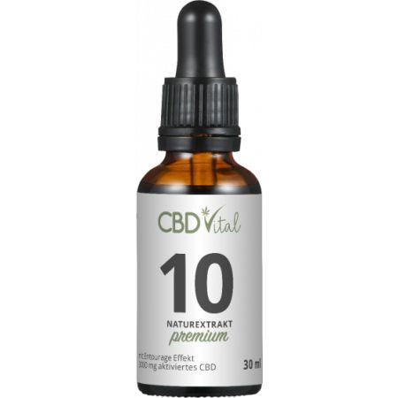 CBD Naturextrakt PREMIUM Öl 10%