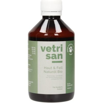 Haut & Fell Naturöl Bio - Reines Hanfsamenöl, Ergänzungs- und Barföl
