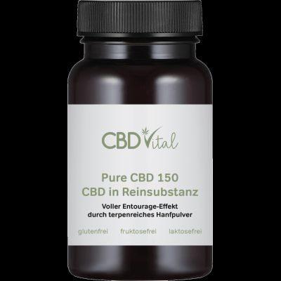 PURE CBD 150 (30%) - Kapseln