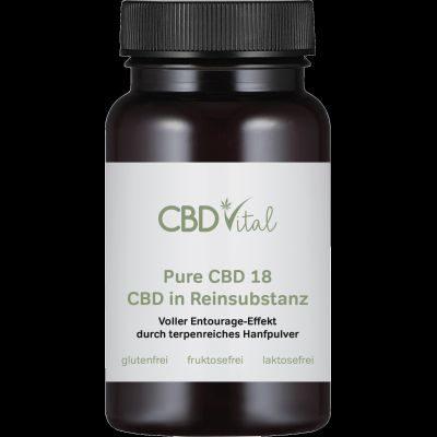 PURE CBD 18 (10%) Kapseln