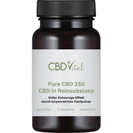 PURE CBD 250 (50%) - Kapseln