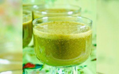 Grünes Vitaminjuwel Kopfsalat-Smoothie