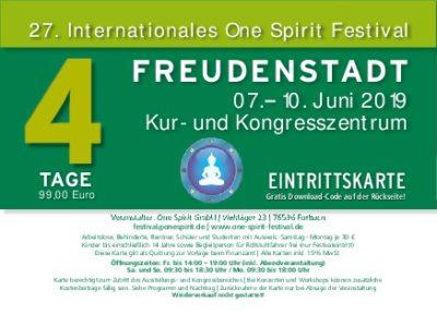 One Spirit Festival Tickets
