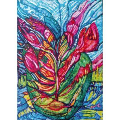 Hermann Münch - Blumen der Himmel III