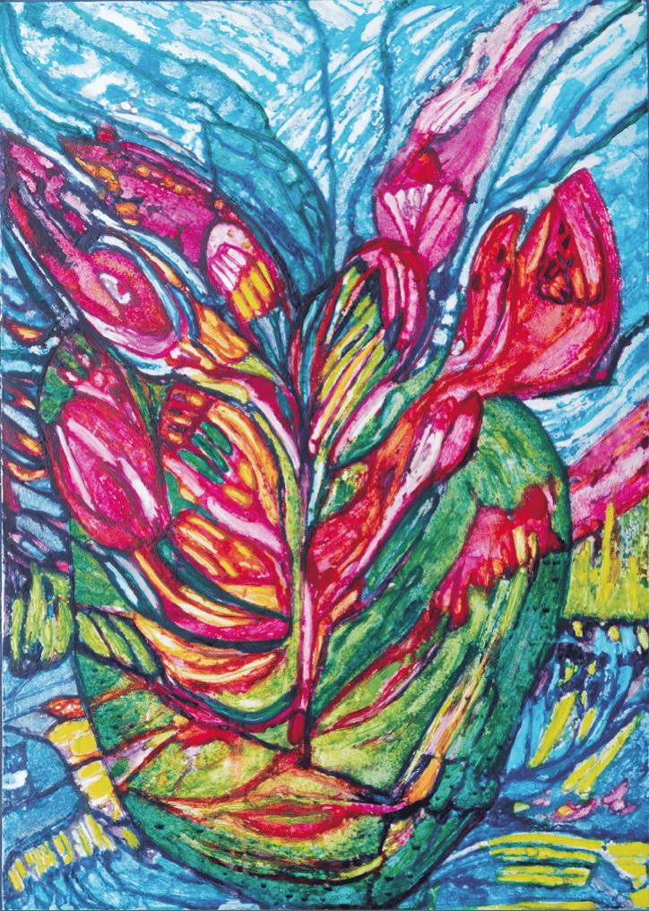 Herrmann Münch - Blumen der Himmel III