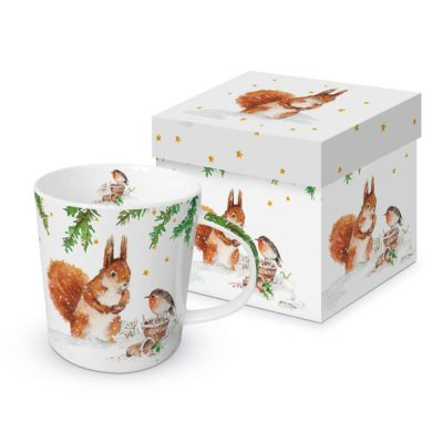 Tasse Trend Mug Squirrel & Robin