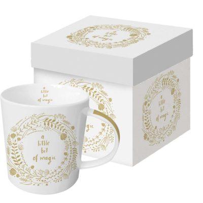 Tasse Magic white Real Gold Trend Mug